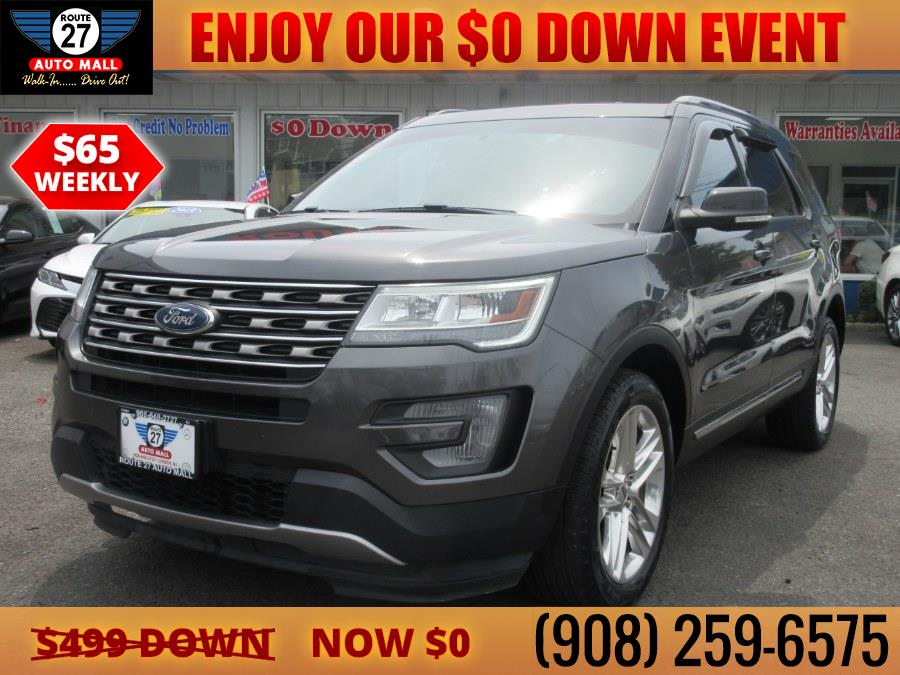 Used 2016 Ford Explorer in Linden, New Jersey | Route 27 Auto Mall. Linden, New Jersey
