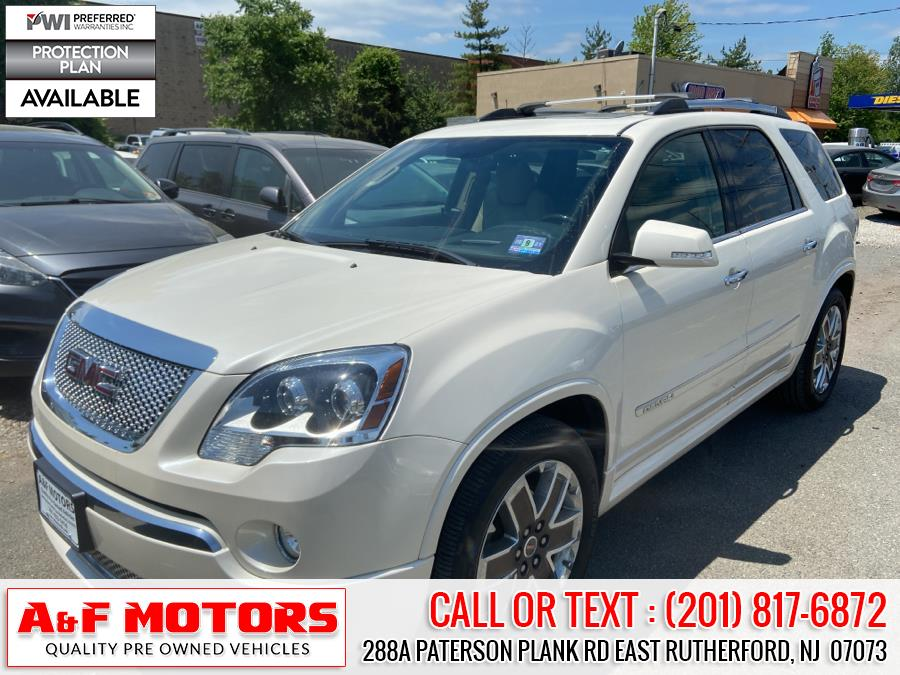 Used 2012 GMC Acadia in East Rutherford, New Jersey | A&F Motors LLC. East Rutherford, New Jersey