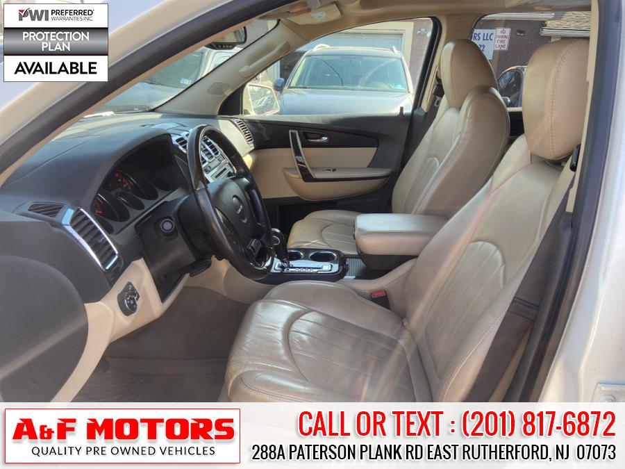 Used GMC Acadia AWD 4dr Denali 2012   A&F Motors LLC. East Rutherford, New Jersey