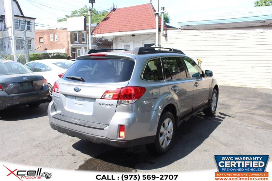 Used Subaru Outback AWD 4dr Wgn H4 Auto 2.5i Prem AWP PZEV 2011   Xcell Motors LLC. Paterson, New Jersey