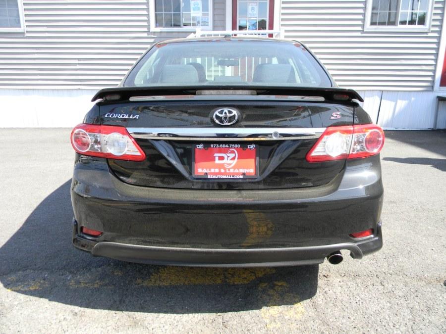Used Toyota Corolla 4dr Sdn Auto S (Natl) 2011 | DZ Automall. Paterson, New Jersey