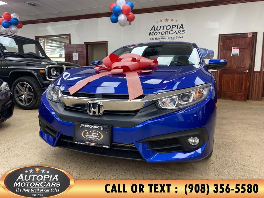 Used 2018 Honda Civic Sedan in Union, New Jersey | Autopia Motorcars Inc. Union, New Jersey