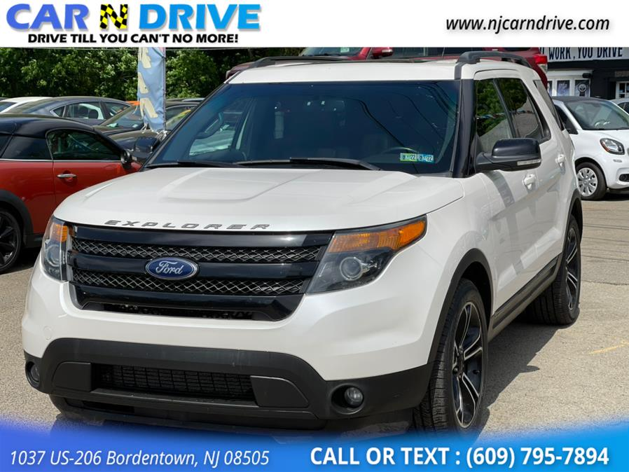 Used Ford Explorer Sport 4WD 2015 | Car N Drive. Bordentown, New Jersey