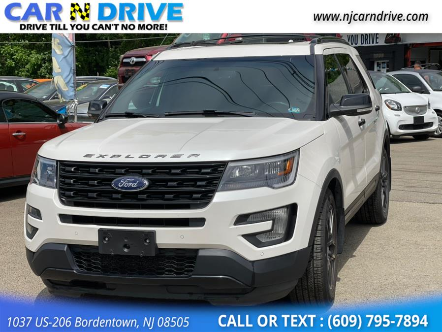 Used Ford Explorer Sport 4WD 2016 | Car N Drive. Bordentown, New Jersey