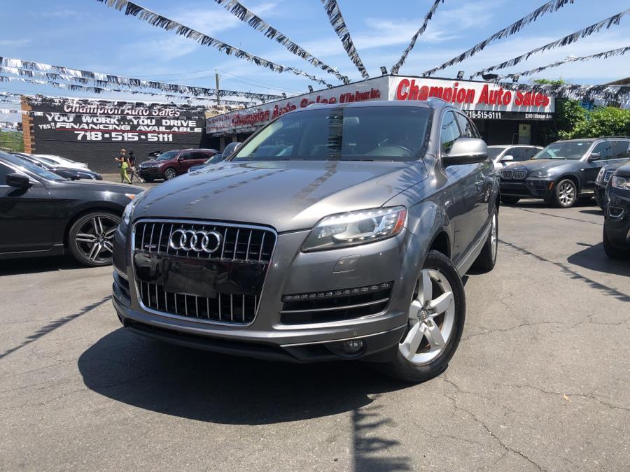 Used 2013 Audi Q7 in Bronx, New York | Champion Auto Sales. Bronx, New York