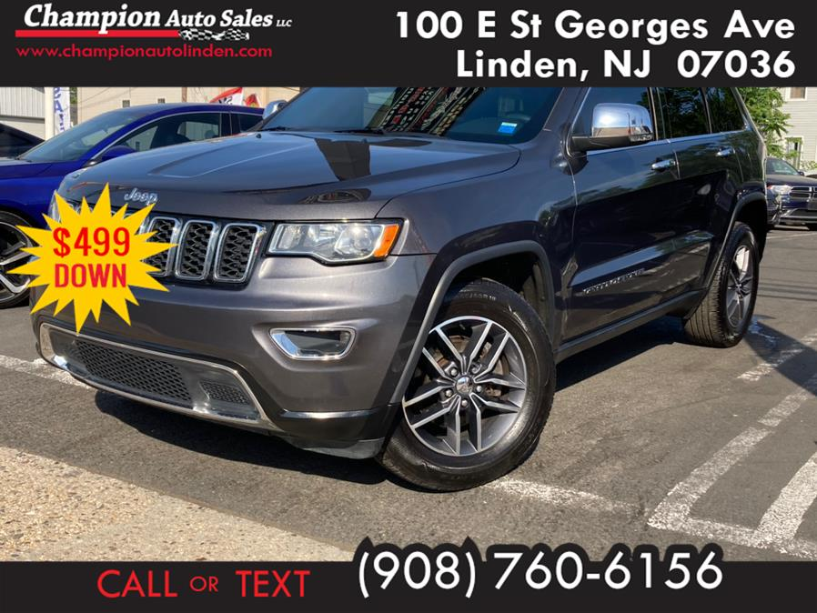 Used 2017 Jeep Grand Cherokee in Linden, New Jersey | Champion Auto Sales. Linden, New Jersey