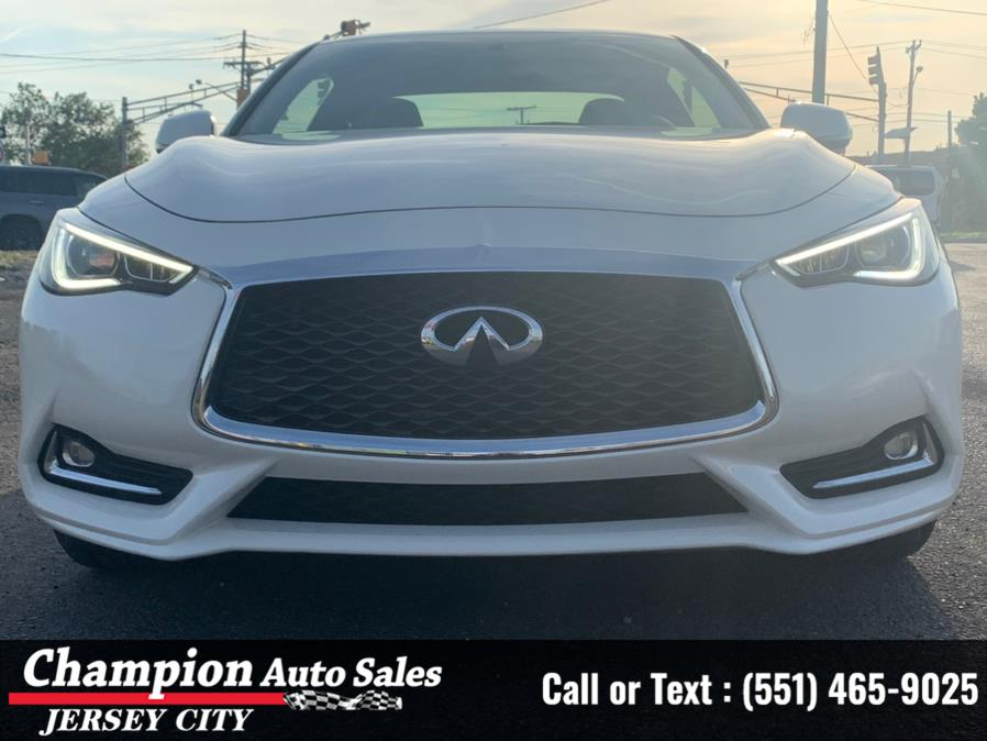 Used 2018 INFINITI Q60 in Jersey City, New Jersey | Champion Auto Sales. Jersey City, New Jersey