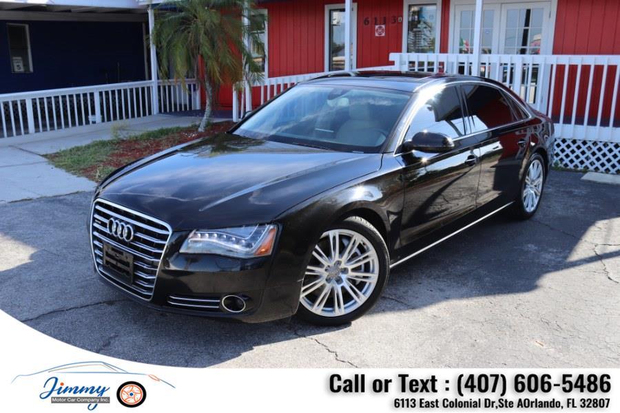 Used Audi A8 L 4dr Sdn 2011 | Jimmy Motor Car Company Inc. Orlando, Florida