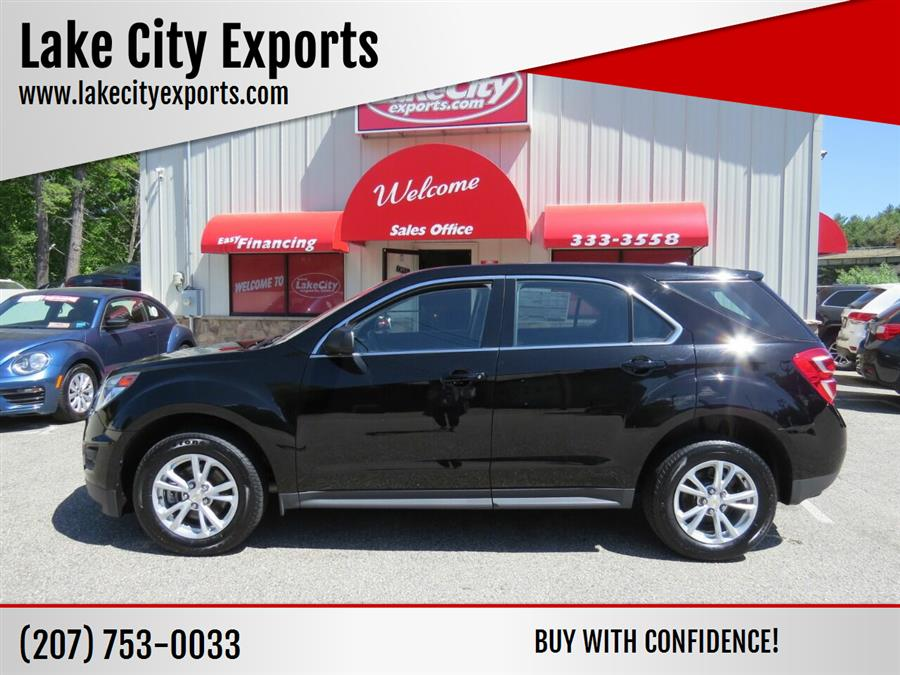 Used Chevrolet Equinox LS AWD 4dr SUV 2017   Lake City Exports Inc. Auburn, Maine