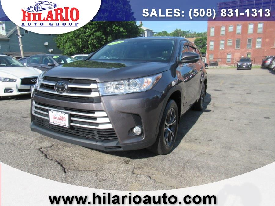 Used 2017 Toyota Highlander in Worcester, Massachusetts   Hilario's Auto Sales Inc.. Worcester, Massachusetts