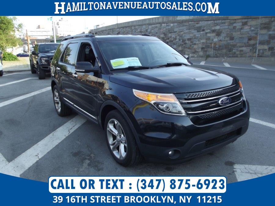 Used Ford Explorer 4WD 4dr Limited 2014 | Hamilton Avenue Auto Sales DBA Nyautoauction.com. Brooklyn, New York