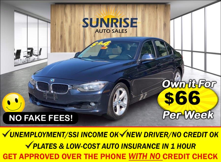 Used BMW 3 Series 4dr Sdn 328i xDrive AWD SULEV 2014 | Sunrise Auto Sales. Rosedale, New York