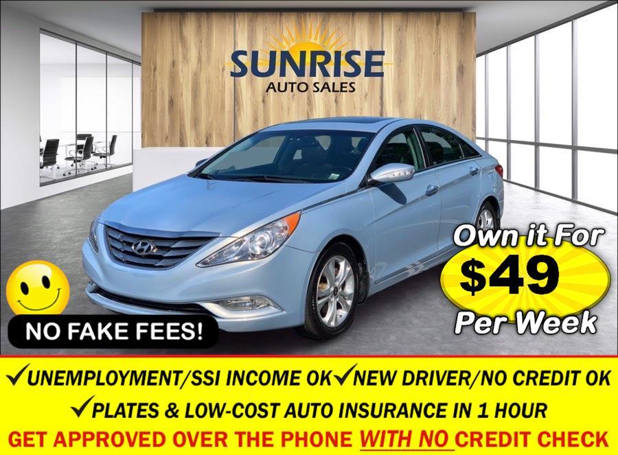 Used Hyundai Sonata 4dr Sdn 2.4L Auto Limited PZEV 2013   Sunrise Auto Sales. Rosedale, New York