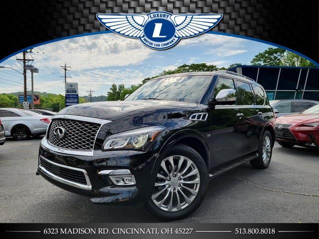 Used Infiniti Qx80 Base 2016 | Luxury Motor Car Company. Cincinnati, Ohio