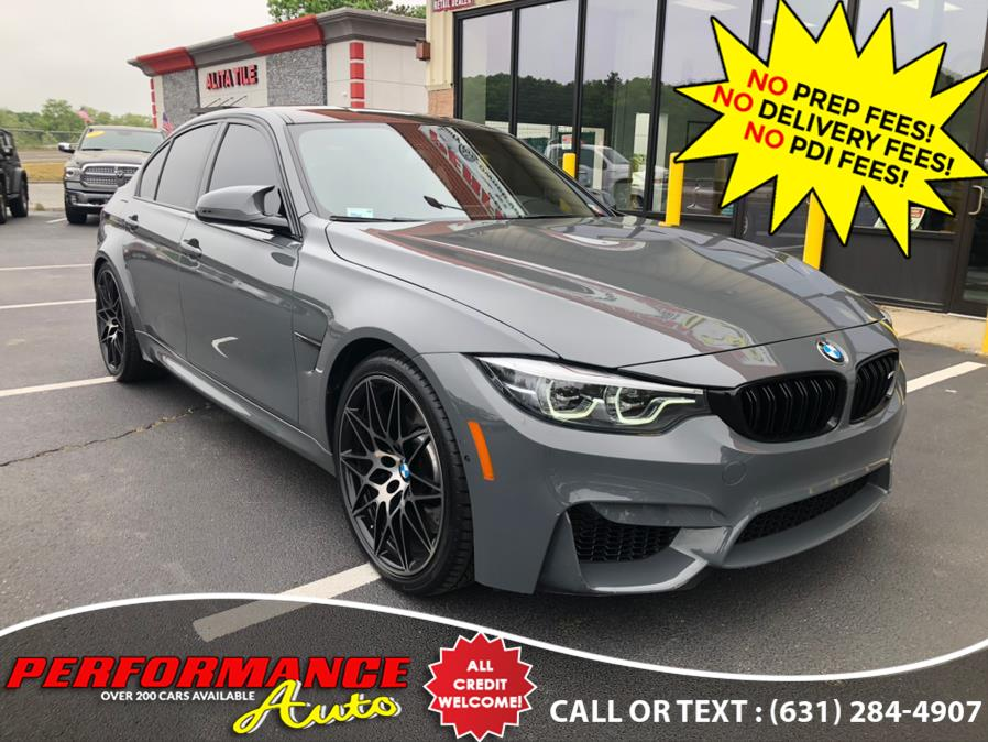 Used BMW M3 Competition package 2018 | Performance Auto Inc. Bohemia, New York