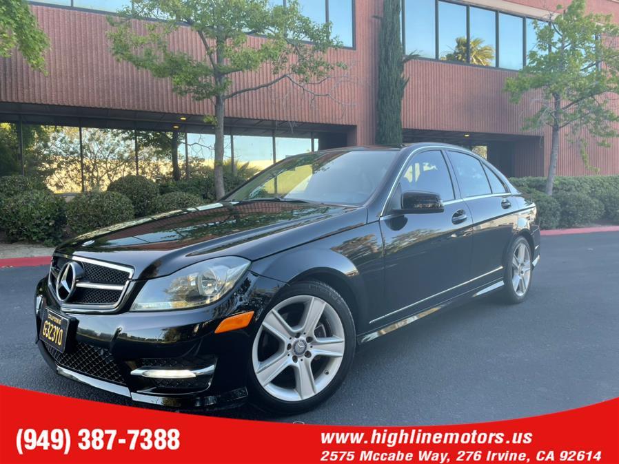 Used 2012 Mercedes-Benz C 300 4Matic in Irvine, California | High Line Motors LLC. Irvine, California