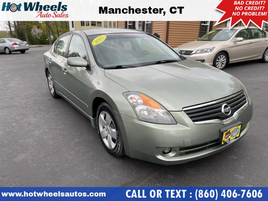 Used 2007 Nissan Altima in Manchester, Connecticut | Hot Wheels Auto Sales LLC. Manchester, Connecticut