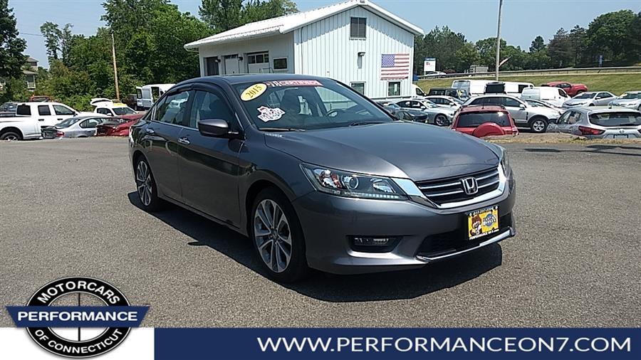 Used Honda Accord Sedan 4dr I4 CVT Sport 2015 | Performance Motor Cars Of Connecticut LLC  . Wilton, Connecticut