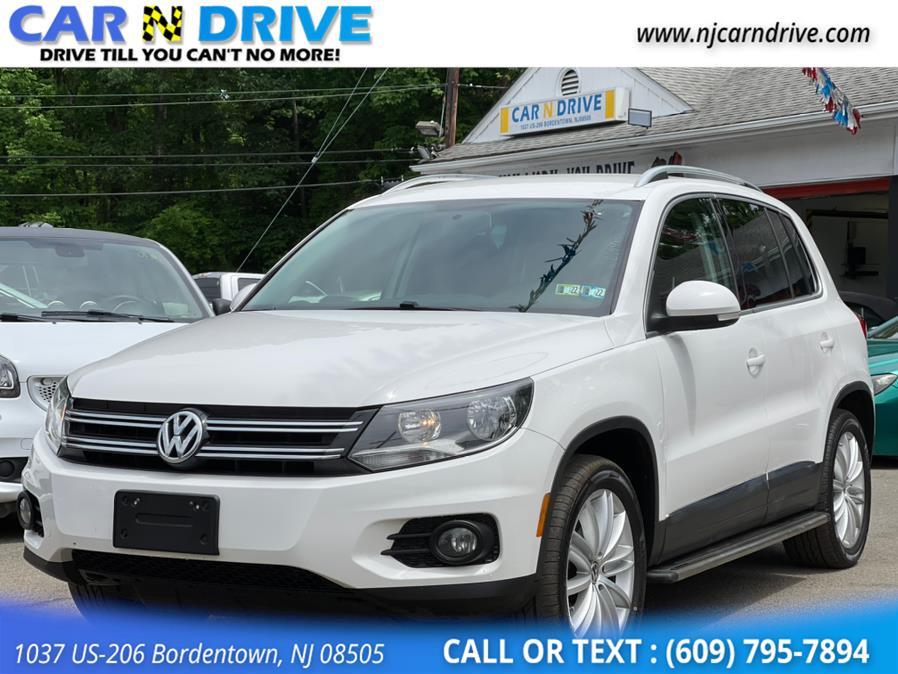 Used Volkswagen Tiguan S 2014 | Car N Drive. Bordentown, New Jersey