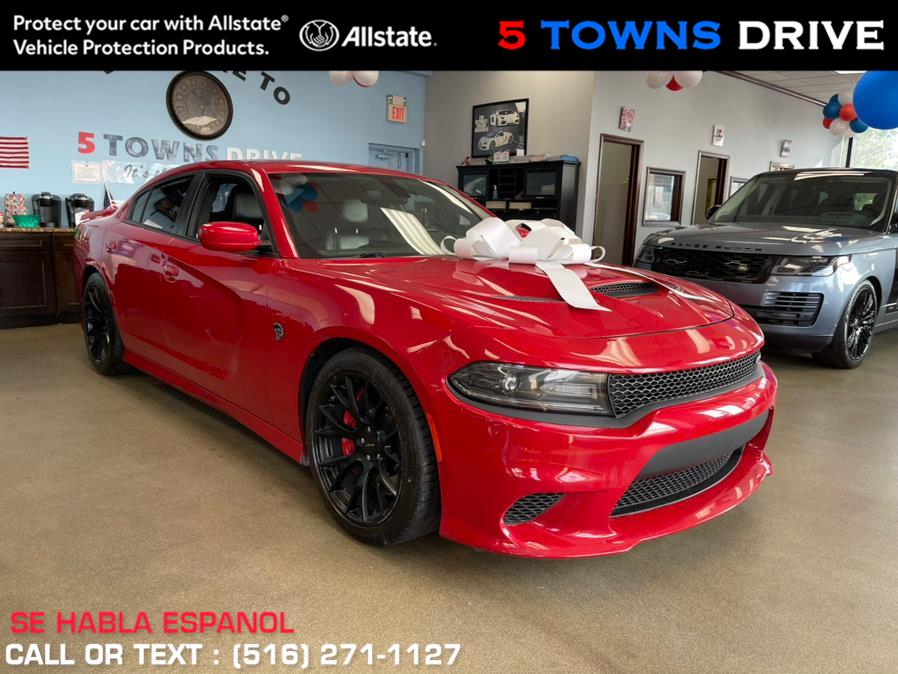 Used Dodge Charger SRT HellCat 4dr Sdn SRT Hellcat RWD 2016 | 5 Towns Drive. Inwood, New York