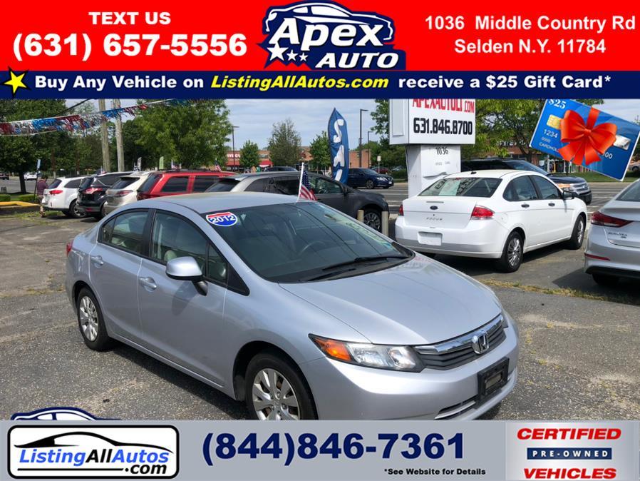 Used Honda Civic Sdn 4dr Man LX 2012 | www.ListingAllAutos.com. Patchogue, New York