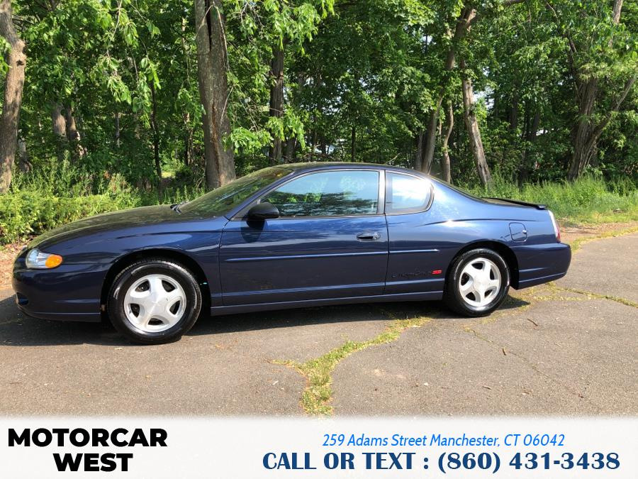 Used Chevrolet Monte Carlo 2dr Cpe SS 2002   Motorcar West. Manchester, Connecticut
