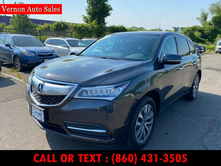Used 2014 Acura MDX in Manchester, Connecticut | Vernon Auto Sale & Service. Manchester, Connecticut