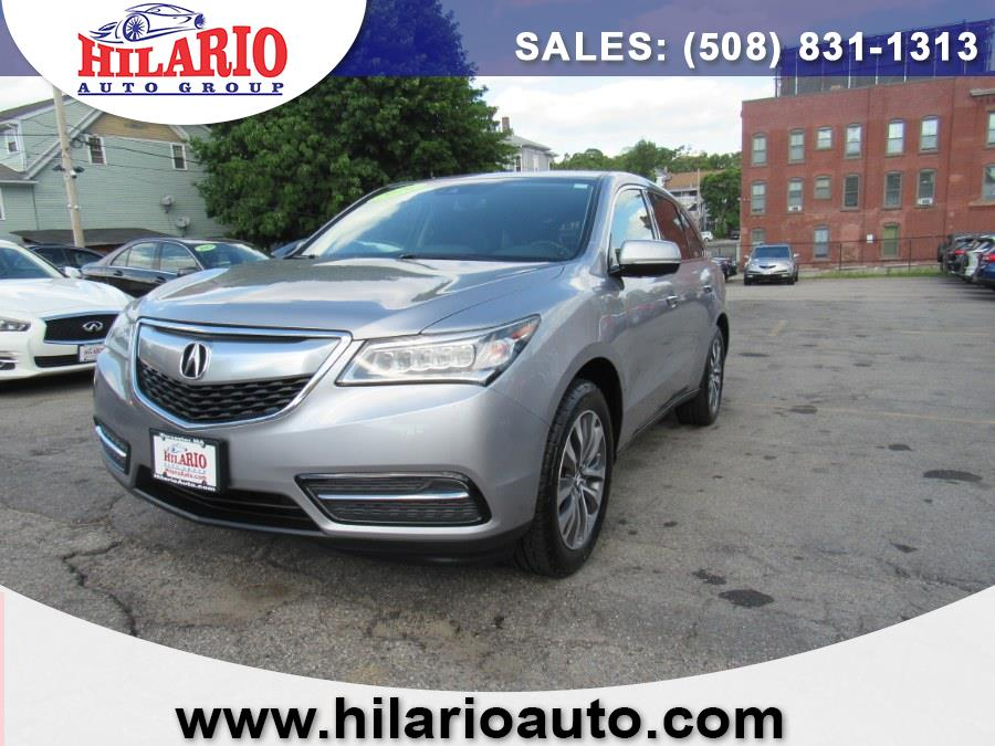 Used 2016 Acura MDX in Worcester, Massachusetts | Hilario's Auto Sales Inc.. Worcester, Massachusetts