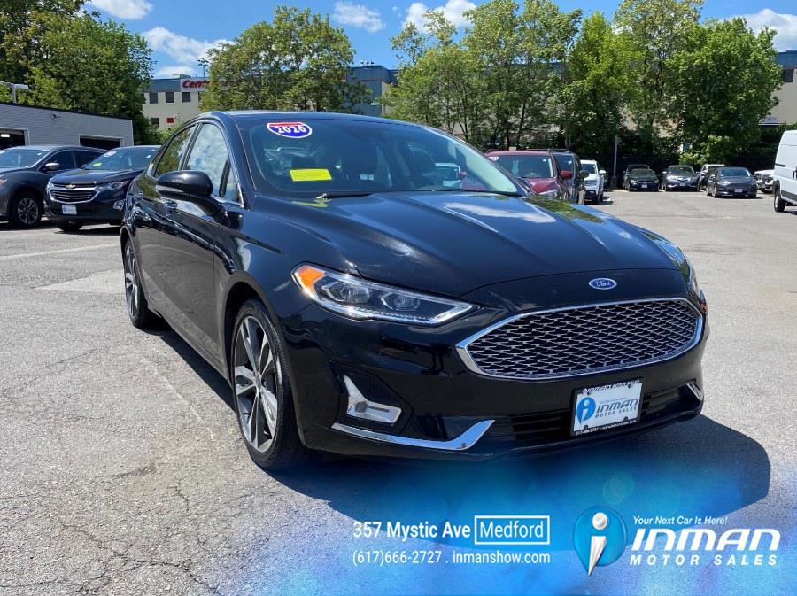 Used Ford Fusion Titanium AWD 2020 | Inman Motors Sales. Medford, Massachusetts