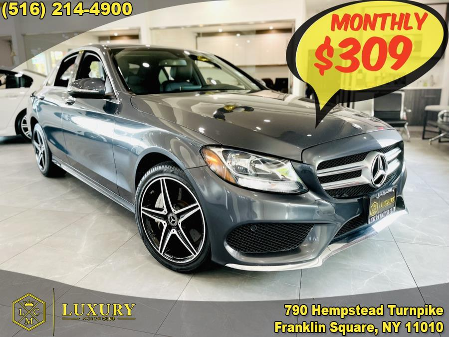 Used Mercedes-Benz C-Class 4dr Sdn C300 Sport 4MATIC 2015   Luxury Motor Club. Franklin Square, New York
