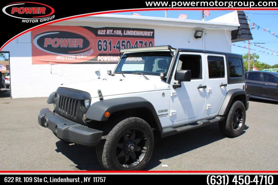 Used 2013 Jeep Wrangler Unlimited in Lindenhurst , New York | Power Motor Group. Lindenhurst , New York