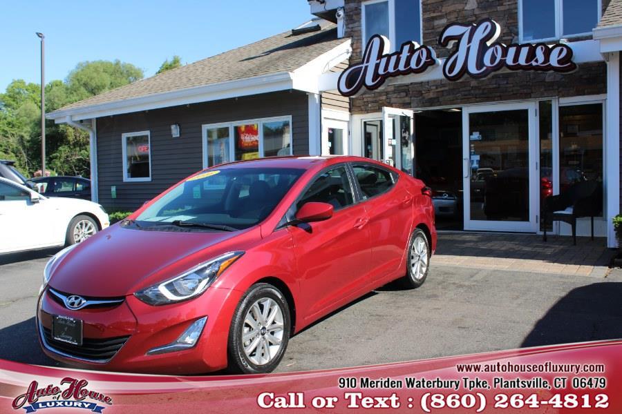 Used 2016 Hyundai Elantra in Plantsville, Connecticut | Auto House of Luxury. Plantsville, Connecticut
