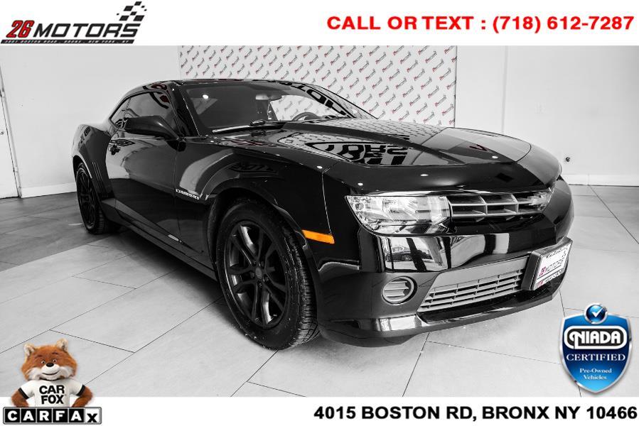 Used Chevrolet Camaro 2dr Cpe LS w/2LS 2015   26 Motors Corp. Bronx, New York