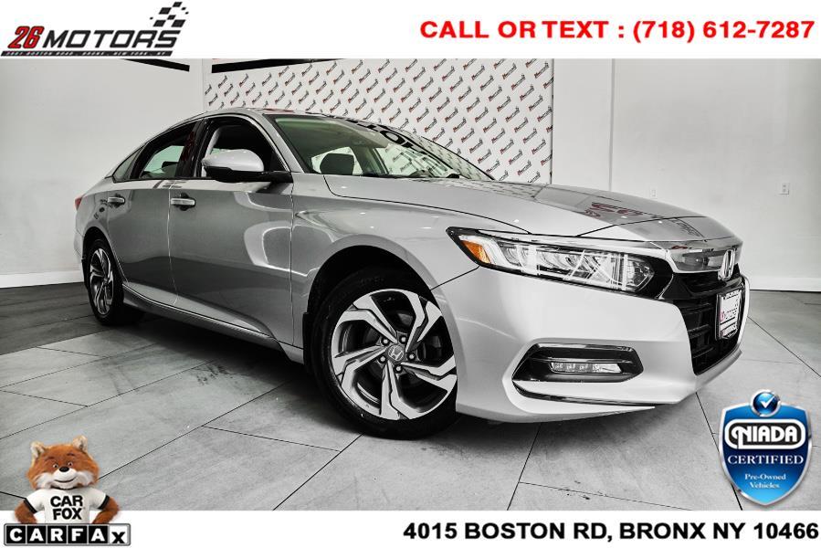 Used Honda Accord Sedan EX-L 1.5T CVT 2018   26 Motors Corp. Bronx, New York