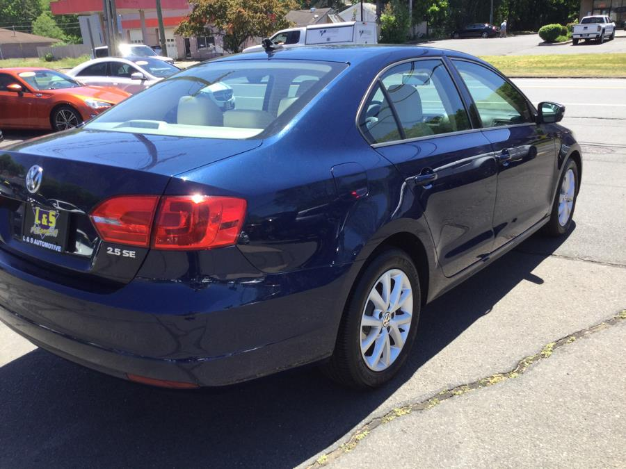 Used Volkswagen Jetta Sedan 4dr Auto SE w/Convenience & Sunroof PZEV 2012 | L&S Automotive LLC. Plantsville, Connecticut