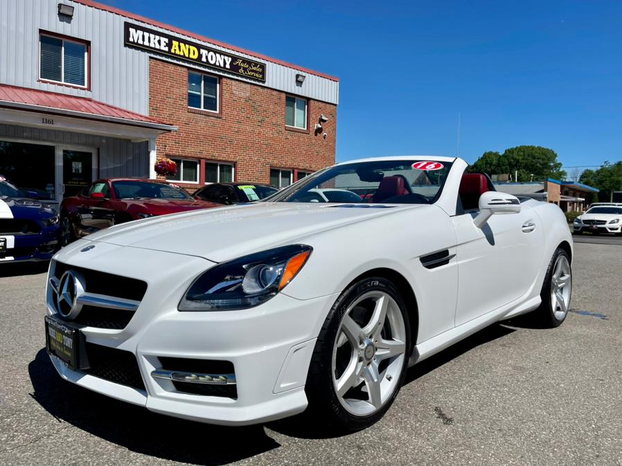 Used Mercedes-Benz SLK 2dr Roadster SLK300 2016 | Mike And Tony Auto Sales, Inc. South Windsor, Connecticut