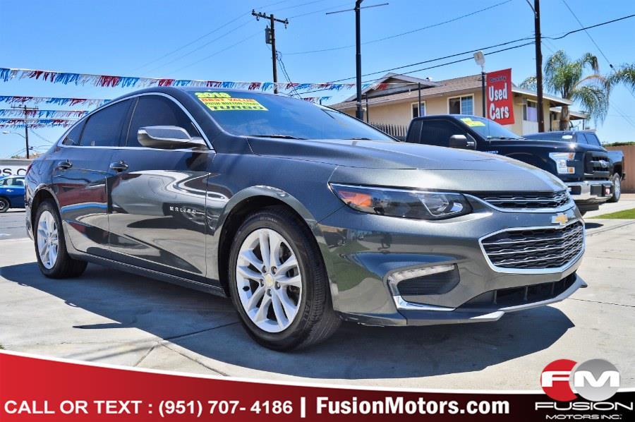 Used 2018 Chevrolet Malibu in Moreno Valley, California | Fusion Motors Inc. Moreno Valley, California