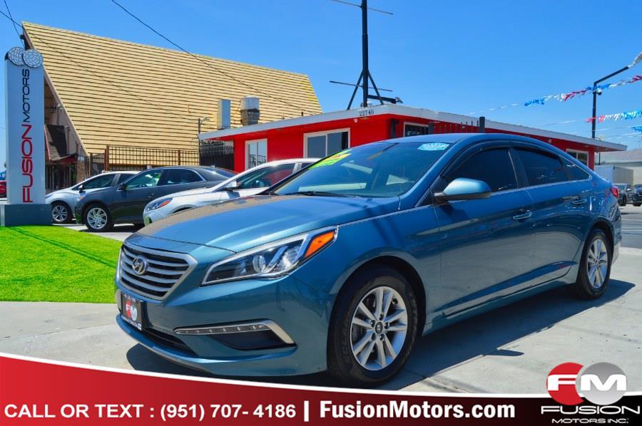 Used 2015 Hyundai Sonata in Moreno Valley, California | Fusion Motors Inc. Moreno Valley, California