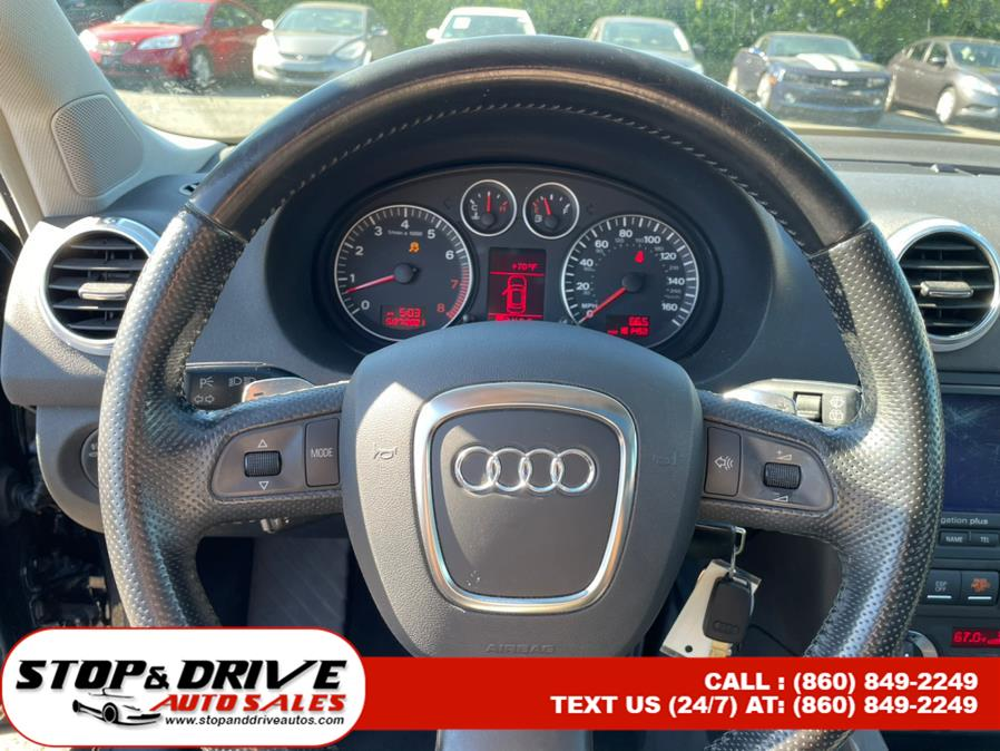 Used Audi A3 4dr HB Auto DSG S-Line quattro 2007   Stop & Drive Auto Sales. East Windsor, Connecticut
