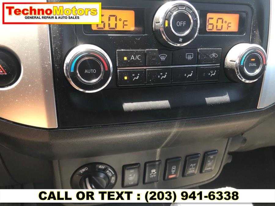 Used Nissan Frontier 4WD Crew Cab SWB Auto S 2013   Techno Motors . Danbury , Connecticut