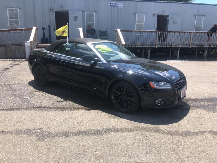 Used Audi A5 2dr Cabriolet Auto quattro 2.0T Premium Plus 2011 | Auto Haus of Irvington Corp. Irvington , New Jersey