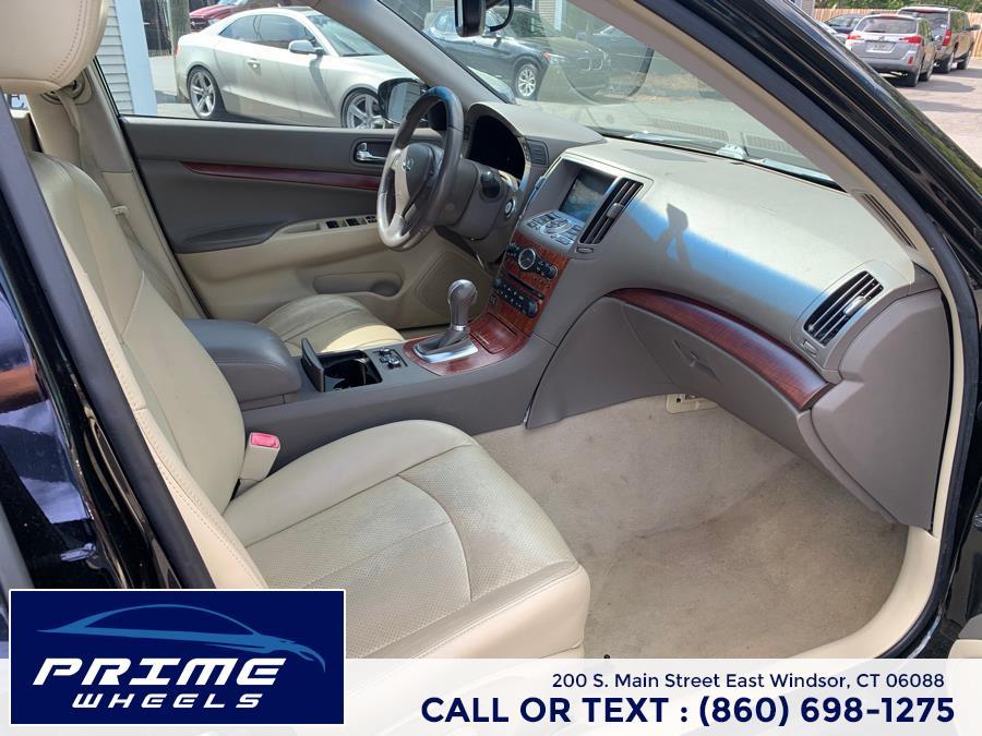Used INFINITI G37 Sedan 4dr x AWD 2009   Prime Wheels. East Windsor, Connecticut