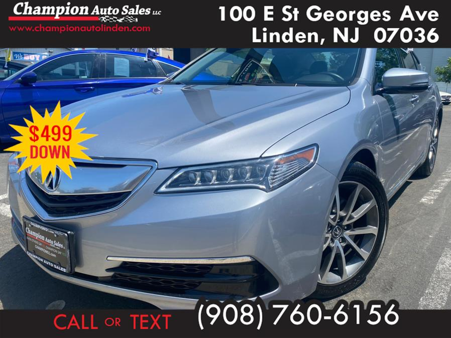 Used 2015 Acura TLX in Linden, New Jersey | Champion Auto Sales. Linden, New Jersey