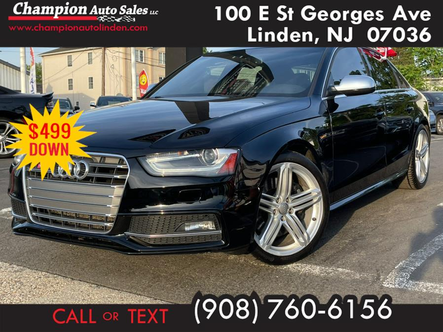 Used 2015 Audi S4 in Linden, New Jersey | Champion Auto Sales. Linden, New Jersey