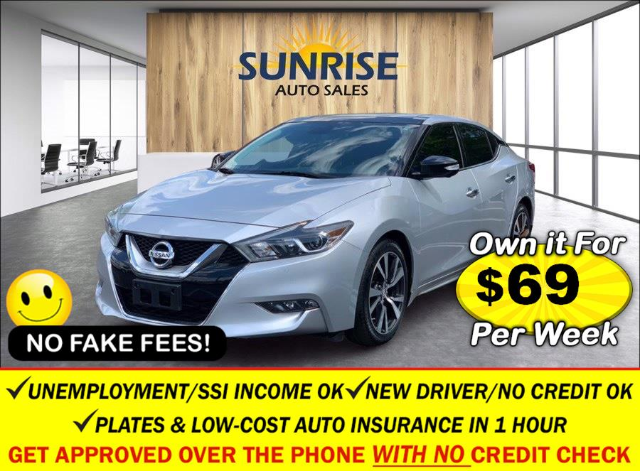 Used Nissan Maxima 4dr Sdn 3.5 Platinum 2016   Sunrise Auto Sales of Elmont. Elmont, New York