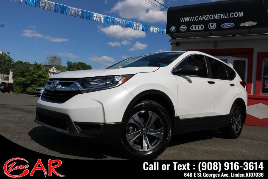 Used Honda CR-V LX 2WD 2019   Car Zone. Linden, New Jersey