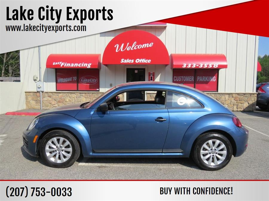 Used Volkswagen Beetle 1.8T Classic 2dr Coupe 2017   Lake City Exports Inc. Auburn, Maine