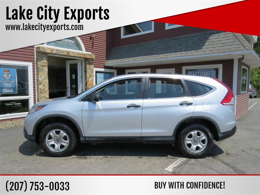 Used Honda Cr-v LX AWD 4dr SUV 2013 | Lake City Exports Inc. Auburn, Maine
