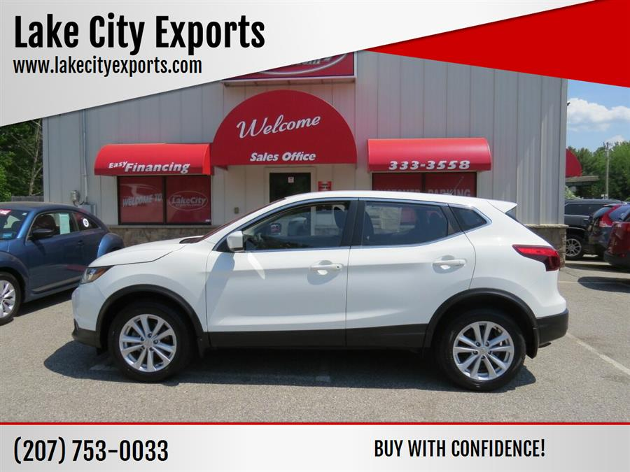 Used Nissan Rogue Sport S AWD 4dr Crossover (midyear release) 2018   Lake City Exports Inc. Auburn, Maine