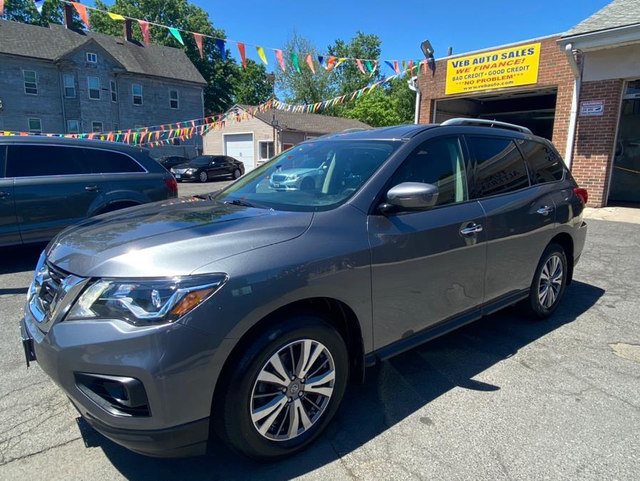 Used Nissan Pathfinder 4x4 S 2018 | VEB Auto Sales. Hartford, Connecticut